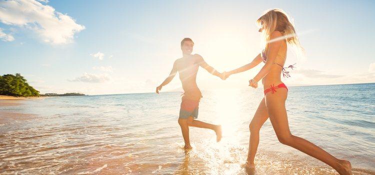 Las vacaciones en la playa son perfectas para estar relajado y desconectar de la rutina
