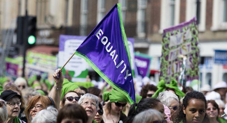 El día 8 de marzo mujeres de todo el mundo salieron a las calles para luchar por sus derechos