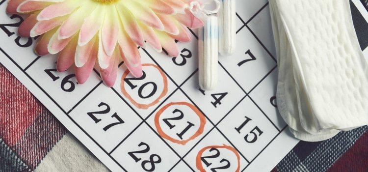 Un calendario menstrual es una manera de saber cuando te va a llegar la menstruación