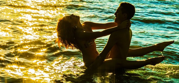 El sexo en la playa puede ser muy placentero