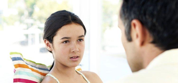 Hablar con tu hija es fundamental en estos casos