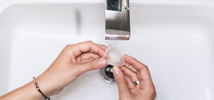 La copa vaginal supone una nueva forma de experimentar la menstruación