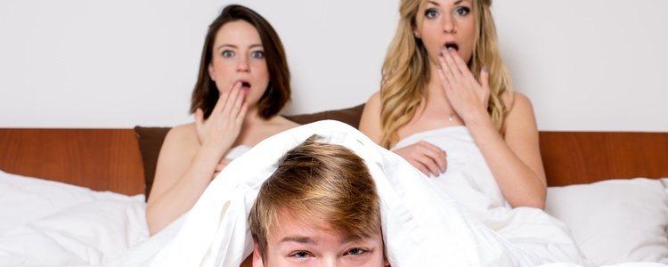 Los tríos son la fantasía sexual más común de los hombres