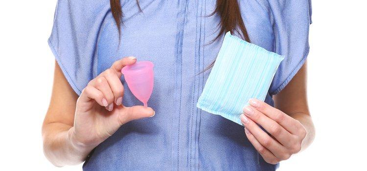 La copa menstrual se introduce en el interior de la vagina garantizando seguridad