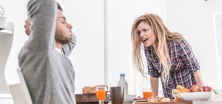 El exceso de discusiones y las faltas de respeto son algunos de los factores que se dan en la relación tóxica