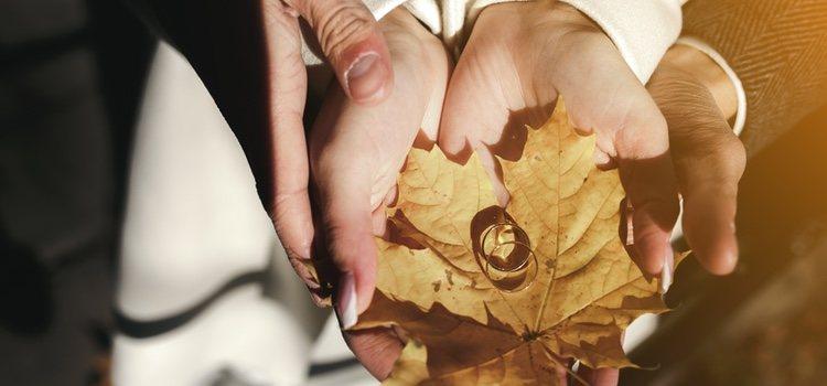 El otoño es una estación que por diversos aspectos se convierte en idónea para celebrar una boda