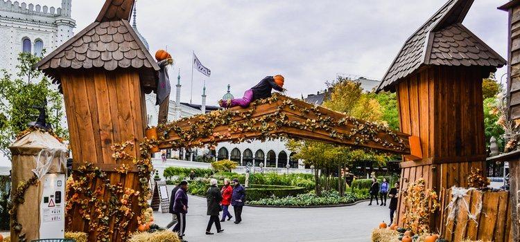 Es un lugar idóneo para acudir y más durante Halloween por su fascinante decoración