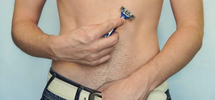 La depilación ya no es solo cosa de mujeres, son muhcos los hombres que van completamente depilados