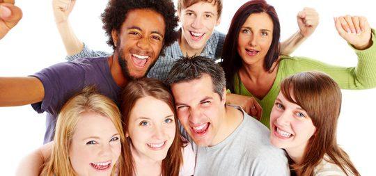 Muchos grupos de amigos son mixtos