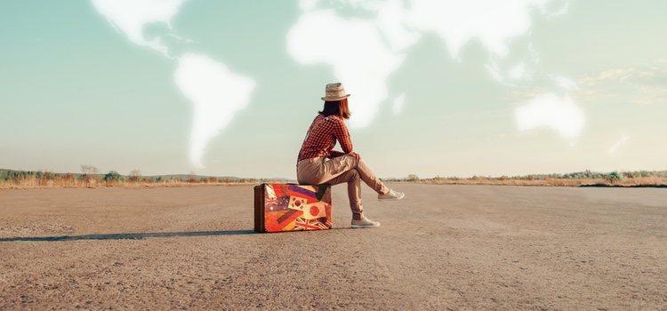 Viaja solo/a para conocerte a ti mismo/a y curar tus penas