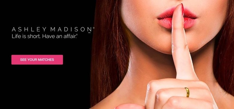 Portada de la red social Ashley Madison