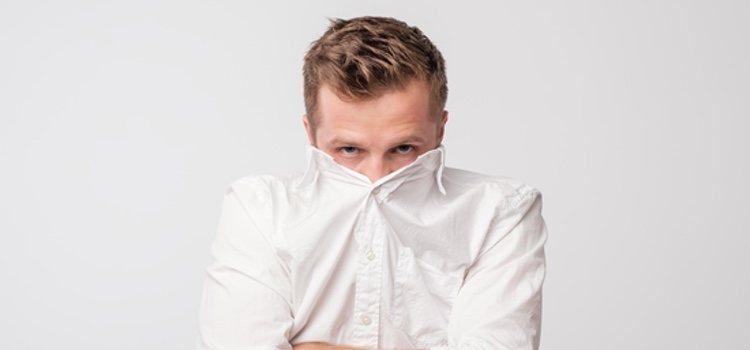 Si eres tímido debes intentar ser tu mismo y mantener contacto visual con tu cita