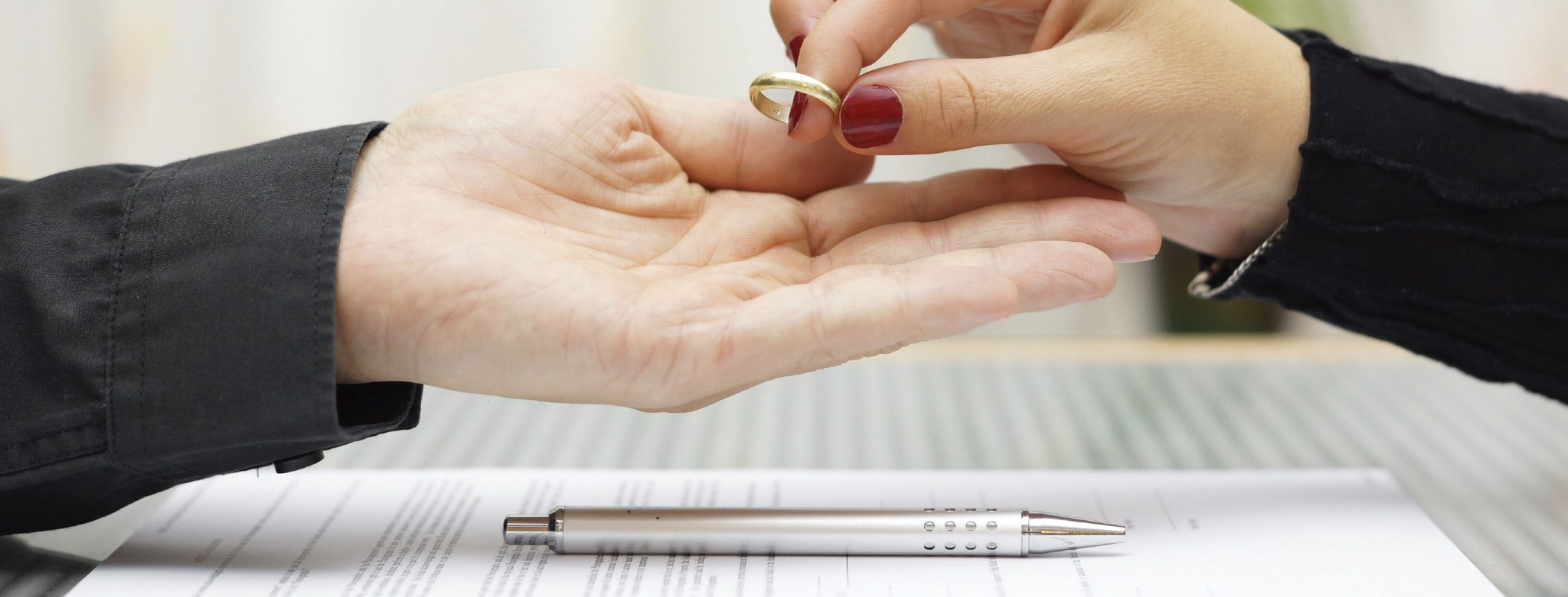 Trámites legales de la separación y el divorcio