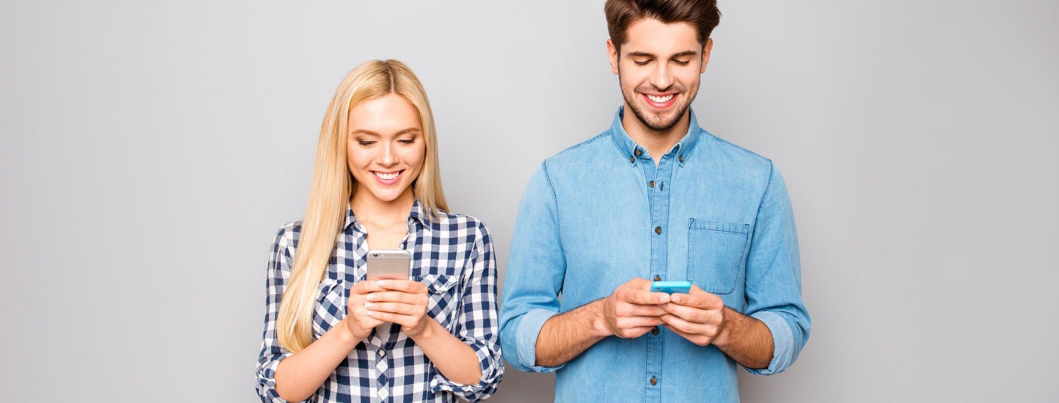 Cómo ligar a través de aplicaciones del móvil