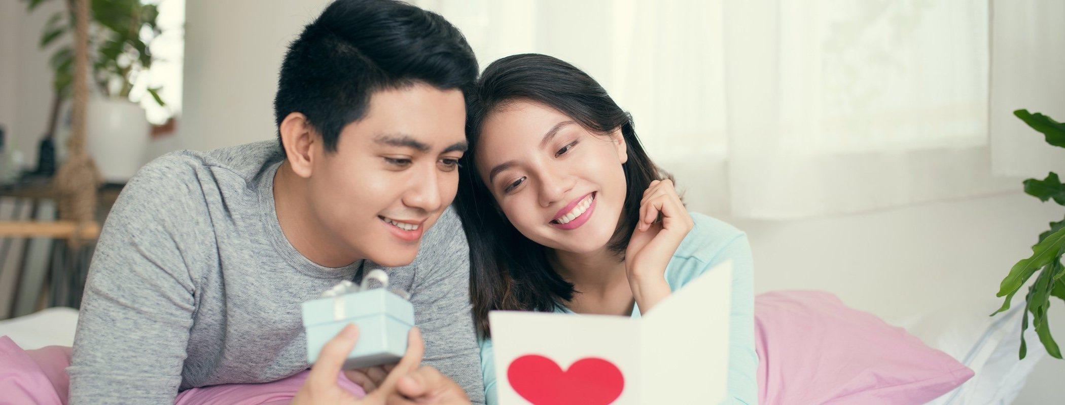 Carta de amor para declararte a tu pareja en Navidad