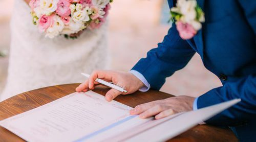 Ventajas e inconvenientes de casarse por lo civil